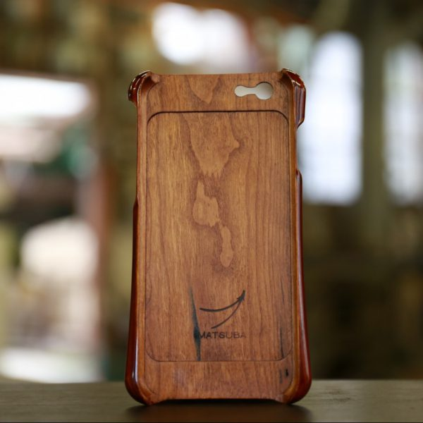 wood japan iphone case