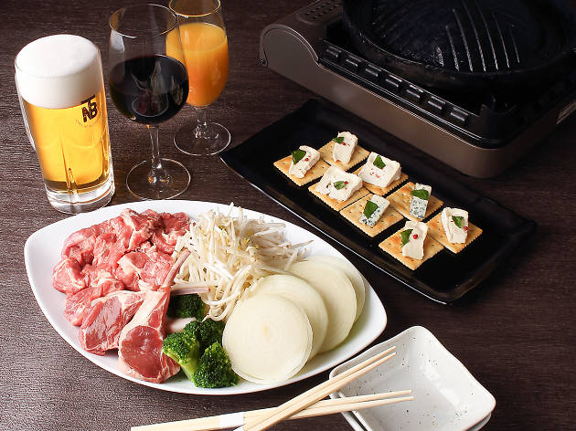 Jingisukan – Japanese-style grilled lamb