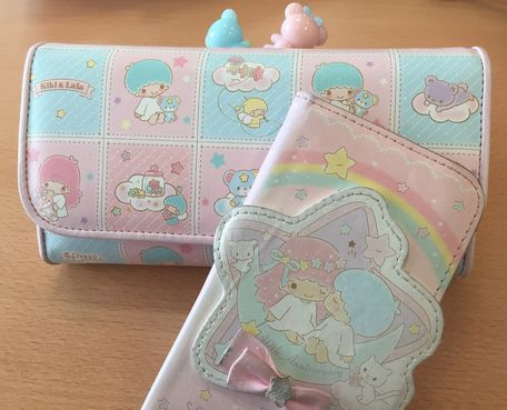 Little Twin Stars Wallet and iPhone Case