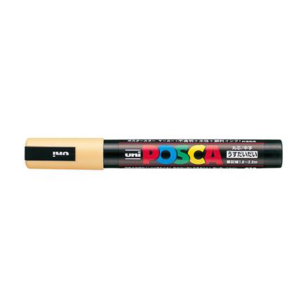Uni Posca Paint Marker Medium Point Pc 5m Light Orange